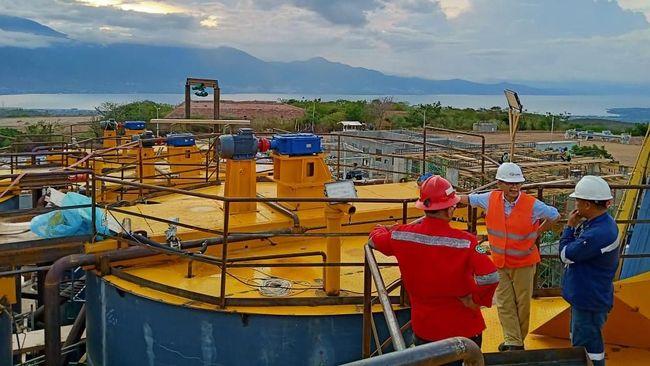 Pembangunan Pabrik Pengolahan Emas Dibangun 2021